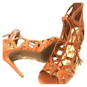 Jessica Simpson Heels w/ back zipper.